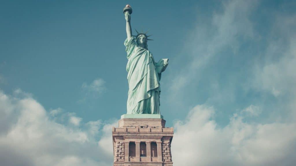 noble liberty statue